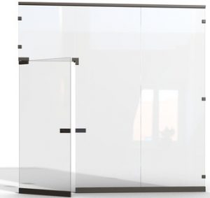 Glass Aluminum Partitions Pakistan