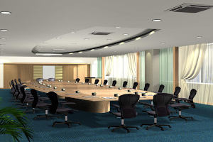 office conference room 3d design